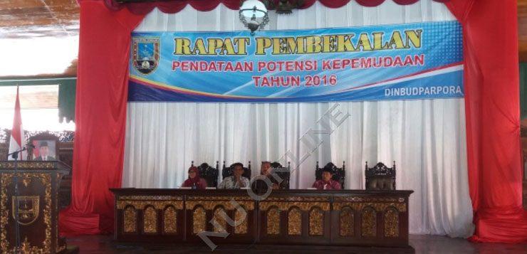 Dinbudparpora Rembang Percayakan Pendataan Potensi Pemuda kepada IPNU-IPPNU