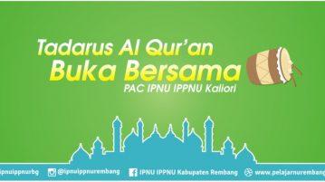 Jadwal Tadarus Al Qur'an & Buka Bersama Ramadhan 1437 H PAC Kaliori