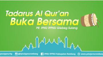 Jadwal Tadarus Al Qur'an & Buka Bersama Ramadhan 1437 H PR Glebeg Sulang