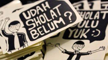 Pembuatan Jadwal Sholat Jadi Program Kerja Ranting Glebeg