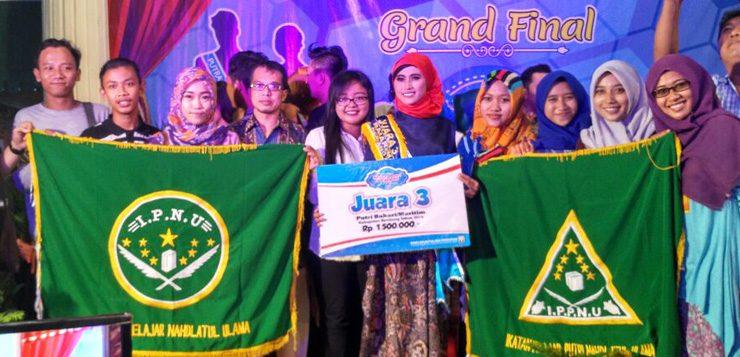 Ketua IPPNU Juara 3 Putri Bahari Rembang 2016