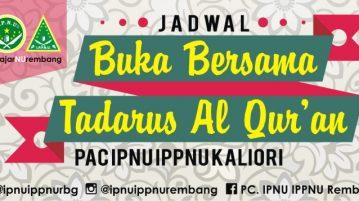 Jadwal Tadarus Al Quran Buka Bersama Ramadhan H Pac Kaliori