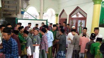 Pelajar NU Sulang awali berorganisasi dengan selapanan dan halal bi halal