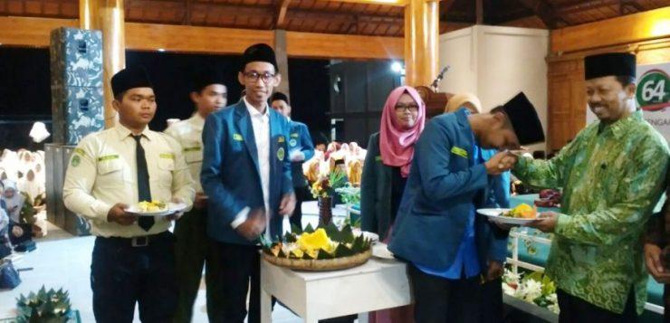 Bersama Ribuan Santri Jateng, PC IPNU Rembang
