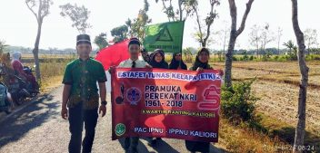 PAC IPNU IPPNU Kaliori Meriahkan ETK 2018