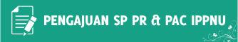 Contoh Pengajuan SP PR PAC IPPNU