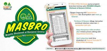 MASBRO di Soft Launching Oleh Pelajar NU Rembang