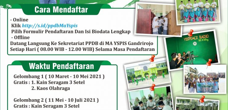 PPDB MA YSPIS 2021