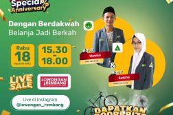 PC IPNU IPPNU Rembang Eksis lagi di LiveSalerembang Dalam Rangka 1st Anniversary rumahbumnsig