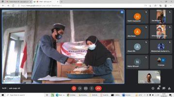Pelajar NU Sumber Gelar Tumpengan Virtual, Simak Keseruanya